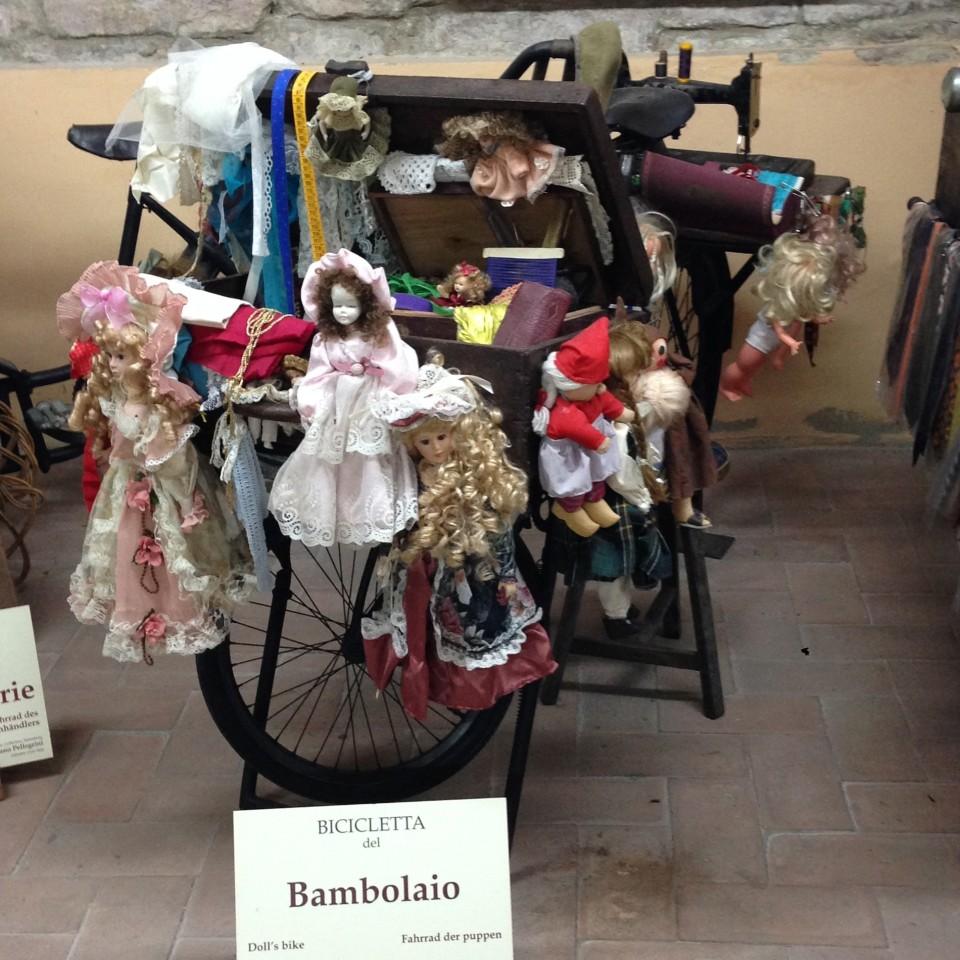 La bicicletta del bambolaio