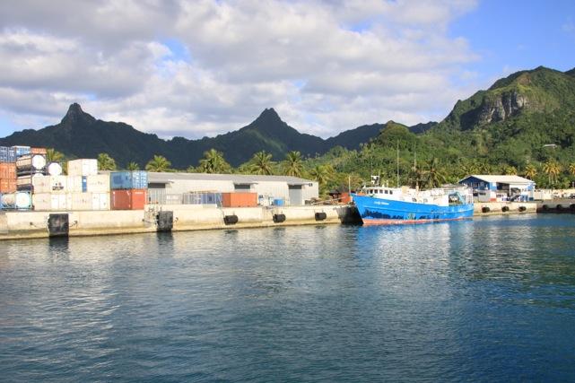 I tratti montani inconfondibili di Rarotonga