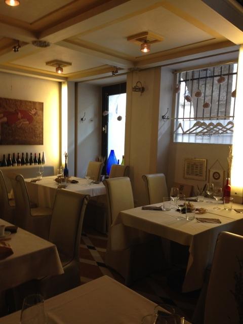 Il ristorante San Parisio a Treviso