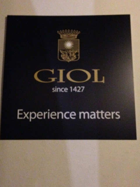 Il marchio delle storiche cantine Giol
