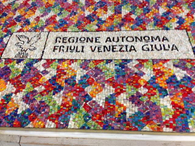 La Regione Friuli Venezia Giulia in mosaico