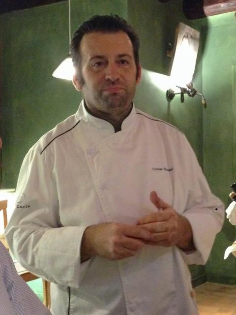 Lo Chef Cristian Mometti