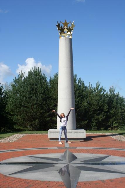Lituania-Piazzetta Centro d'Europa