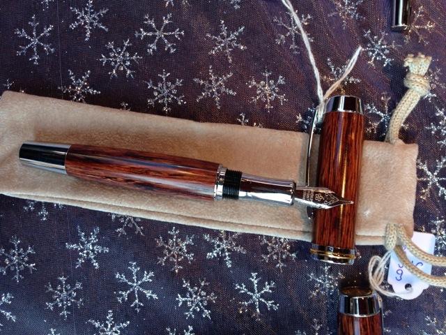 Stilografica in legno di faggio