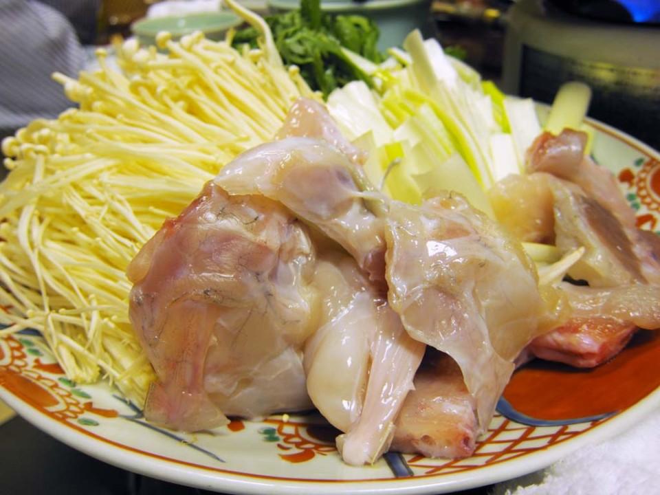 Pesce palla giapponese e verdure