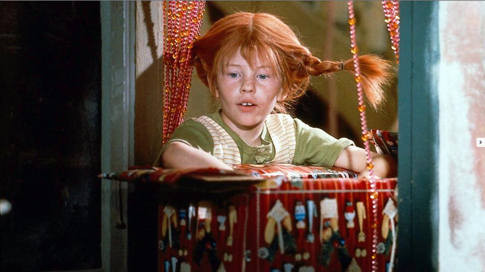 Pippi Calzelunghe durante il film