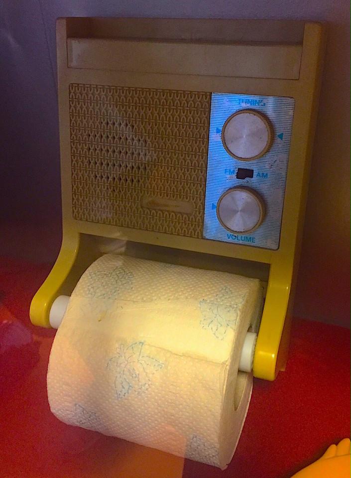 La radio da bagno