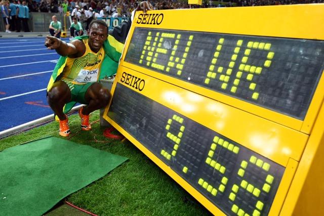 Usain Bolt e il 9.58 che ne fa l'uomo più veloce del mondo