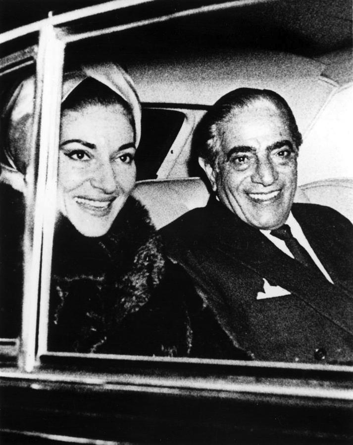 Aristotele Onassis and Maria Callas