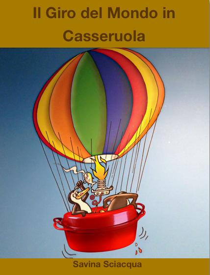 Il Giro del mondo in Casseruola - copertina italiana