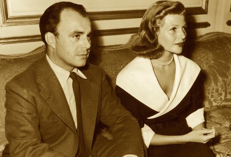Rita Hayworth e il Principe Aly Khan