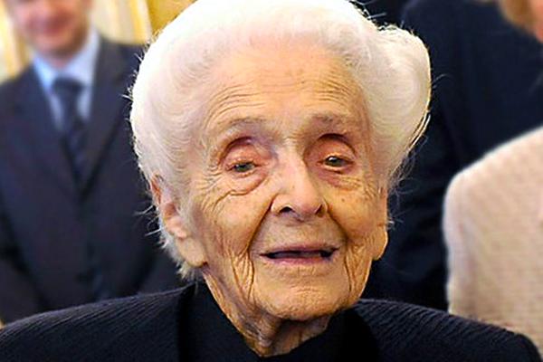 Rita Levi Montalcini è arrivata a 103 anni