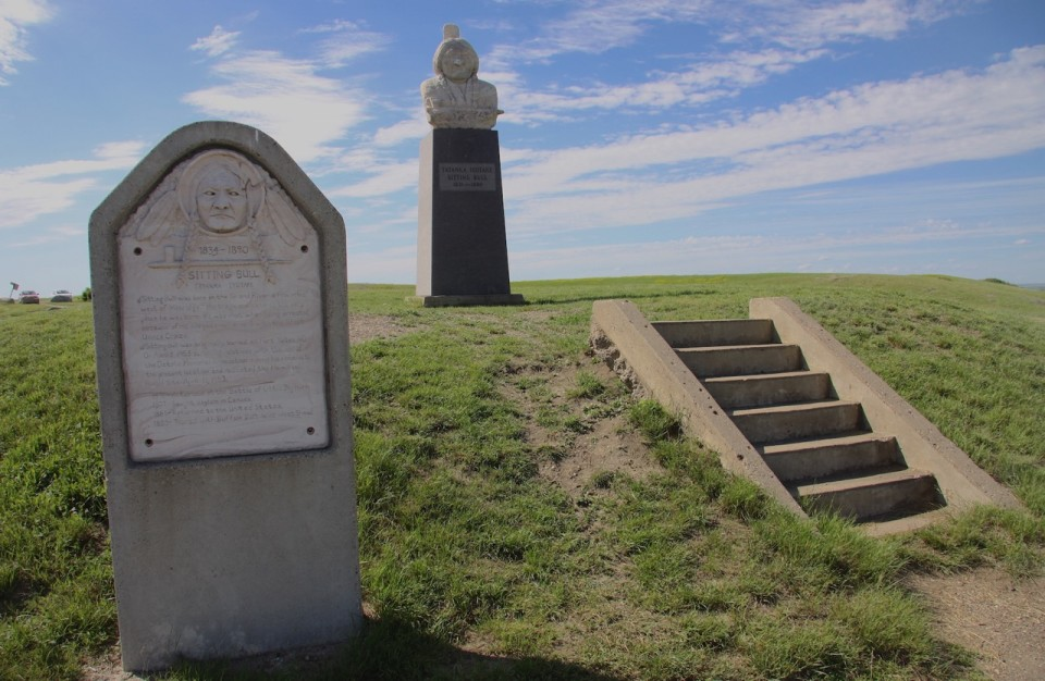 Il Sitting Bull Memorial.
