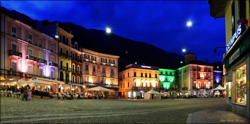 Piazza Grande di notte