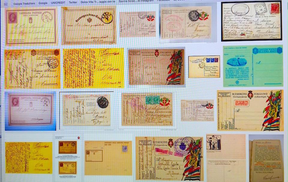 Puzzle delle prime Cartoline