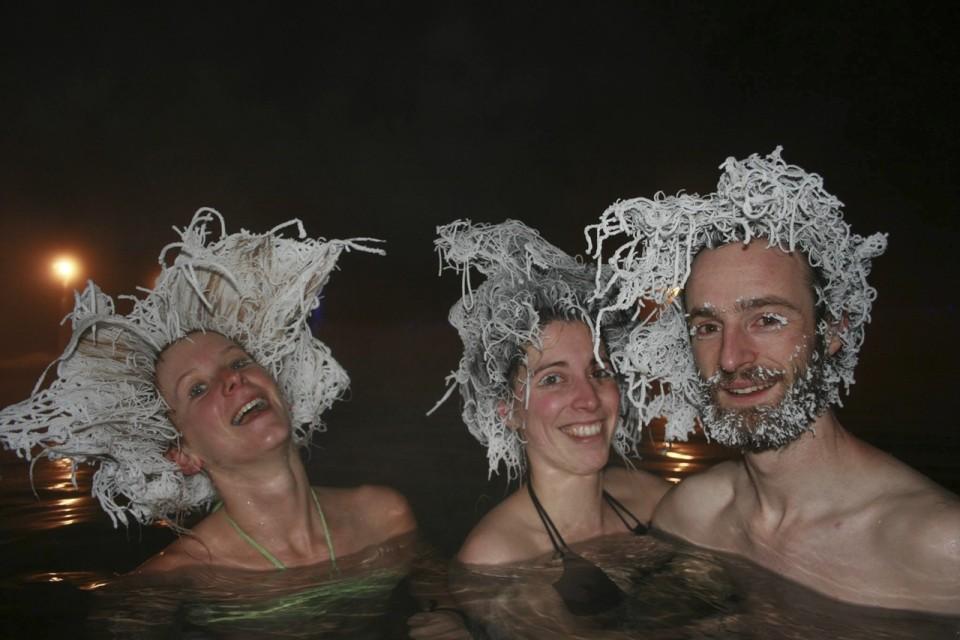 Dal Canada durante il concorso dei Capelli Congelati