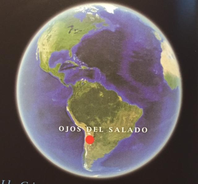 Ecco dove è il vulcano Ojos del Salado
