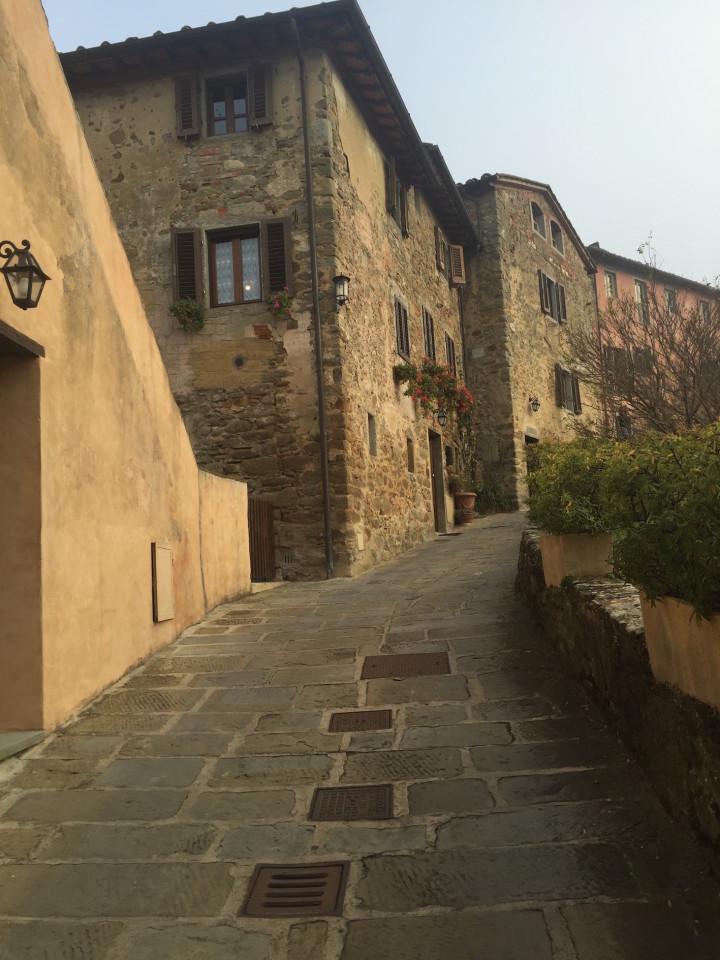 L'ingresso al Borgo