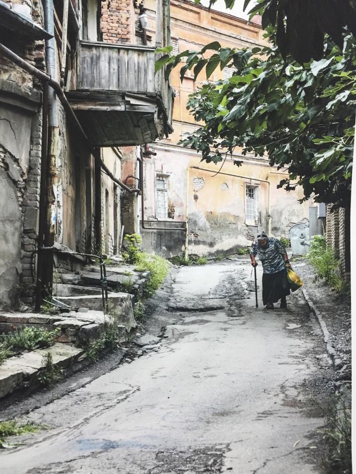 Scene da un Caucaso sperduto