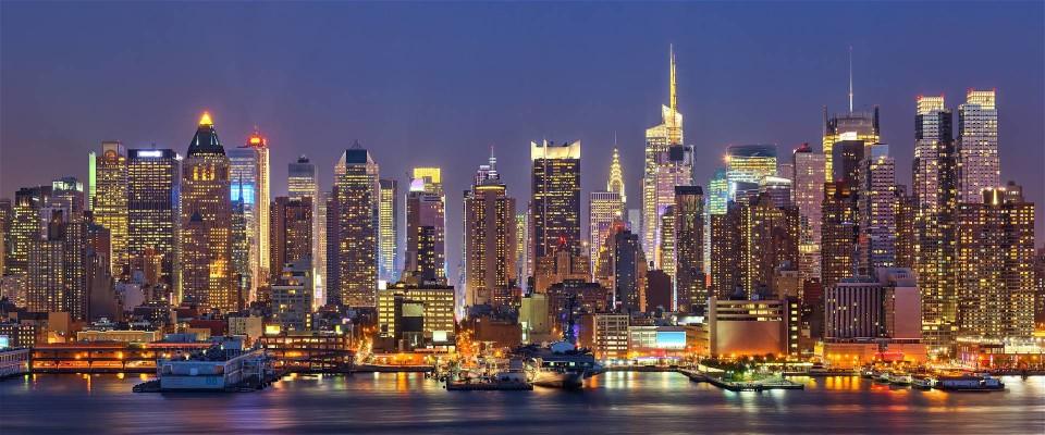 New york di notte dolce vita travel magazine for Foto new york notte