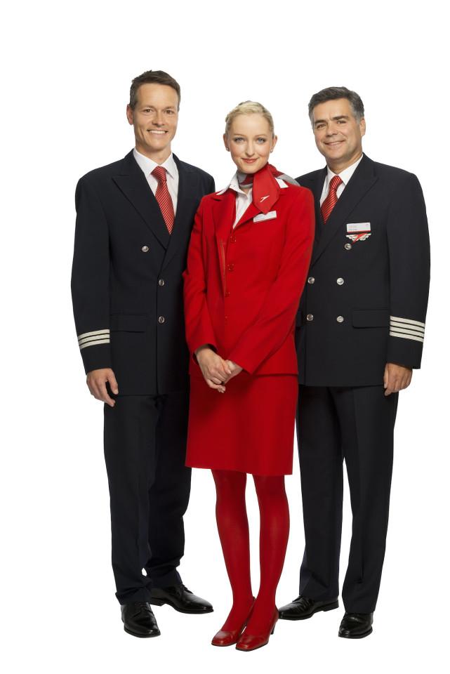 Crew Austrian Airlines