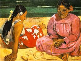 Due donne tahitiane di Gauguin