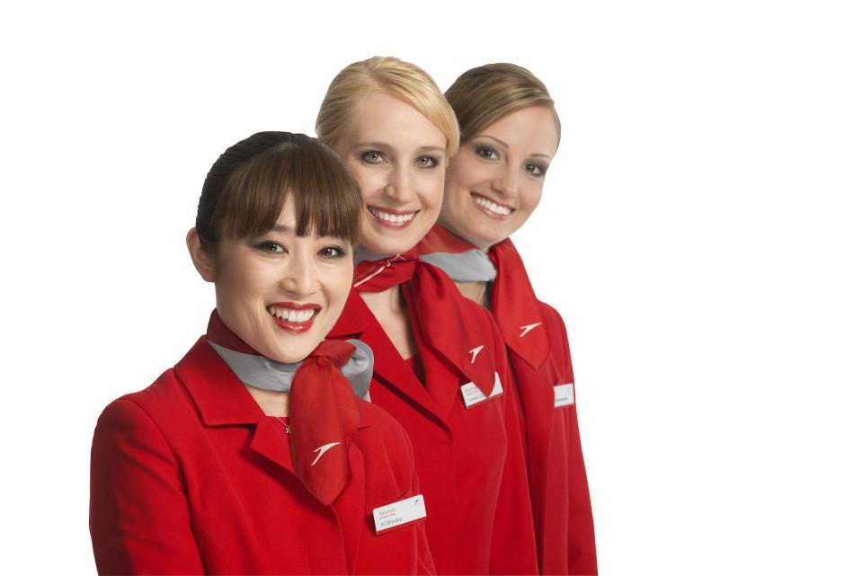 I colori dell'Equipaggio Austrian Airlines