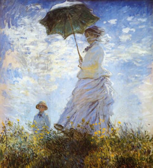 La passeggiata di Monet