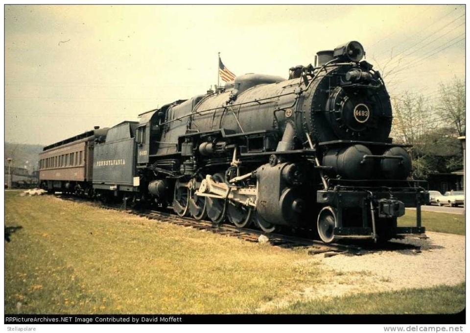 Locomotiva in Pennsylvania