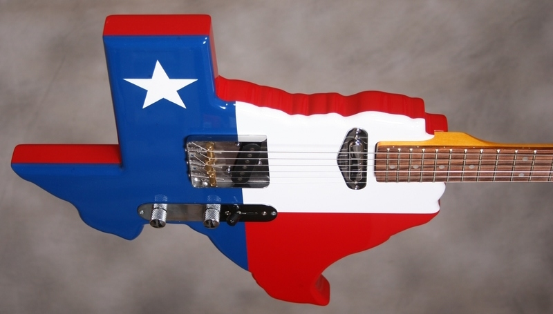 Texas T Caster guitar 1953