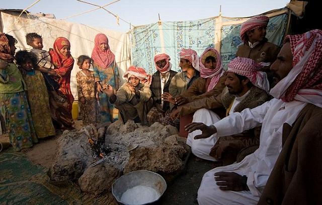 Villaggio di beduini