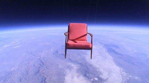 La poltrona in orbita