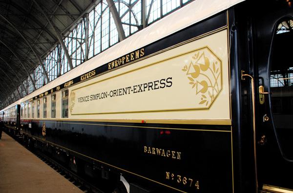 Orient Express in stazione
