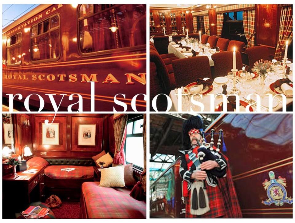 The Royal Scotsman, composizione