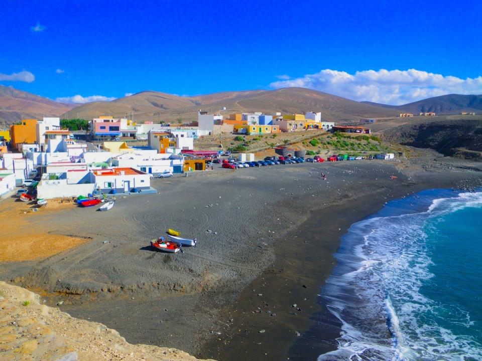 Il villaggio di pescatori di Ajuy