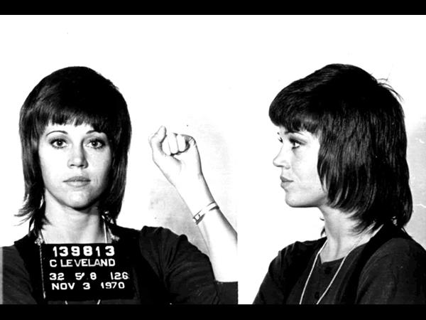 Jane Fonda nella segnaletica
