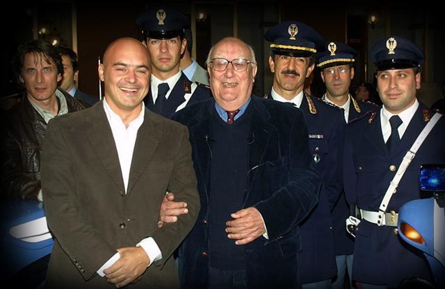 Andrea Camilleri e Luca Zingaretti insieme
