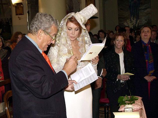 Il giorno del suo matrimonio con il Marchese Carlo Ripa di Meana