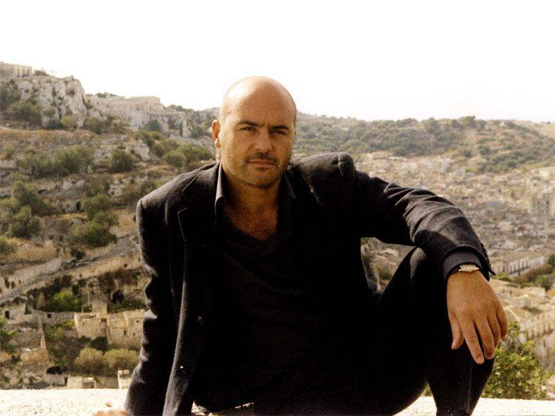 Luca Zingaretti in un momento di relax