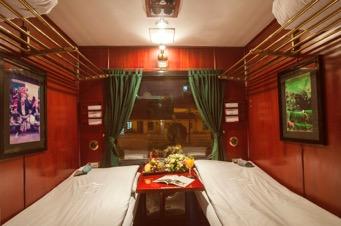 Una cabina sul Victoria Express Train