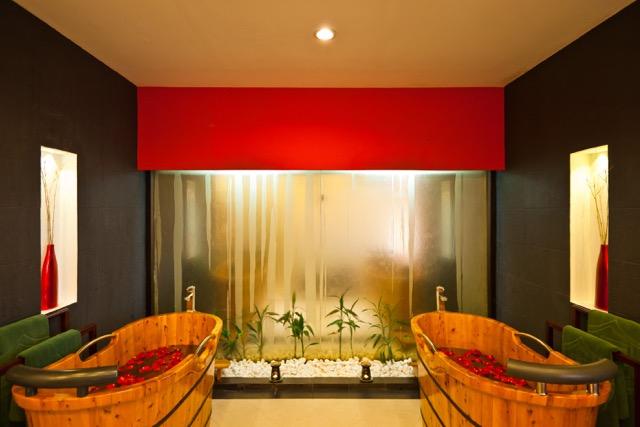 Victoria Sapa Resort, le vasche per due nella Spa