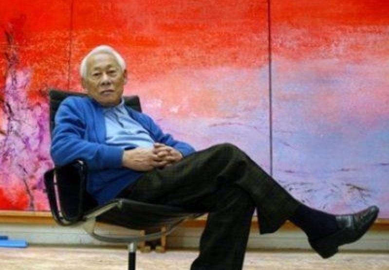 Zao-Wou-Ki morto in Svizzera nel 2013