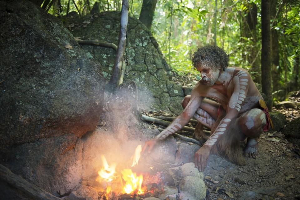 Un aborigeno come testimone