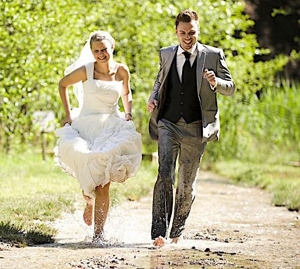 Matrimonio in corsa
