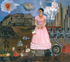 Autoritratto al confine tra il Messico e gli Stati Uniti d'America