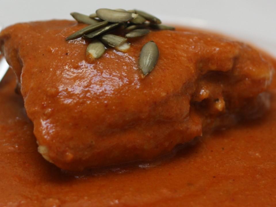 Il piatto del pollo in Pipian