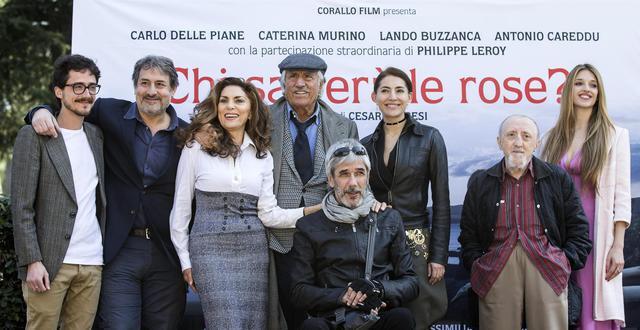 Il cast alla presentazione (grazie a Roberto Furesi per alcune foto)