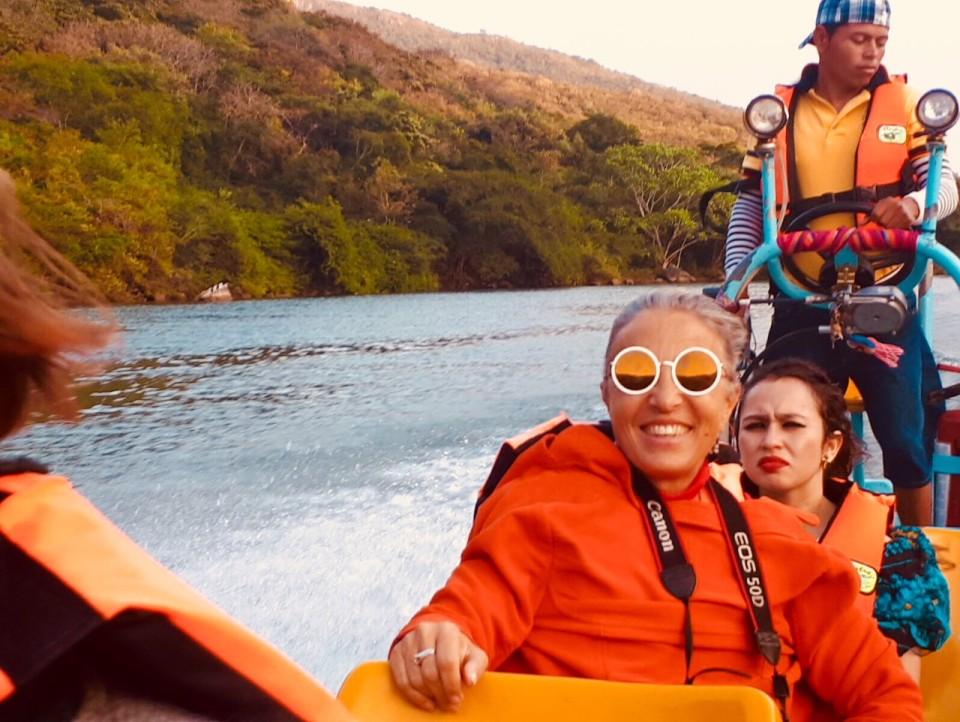 Sul fiume Grijalva