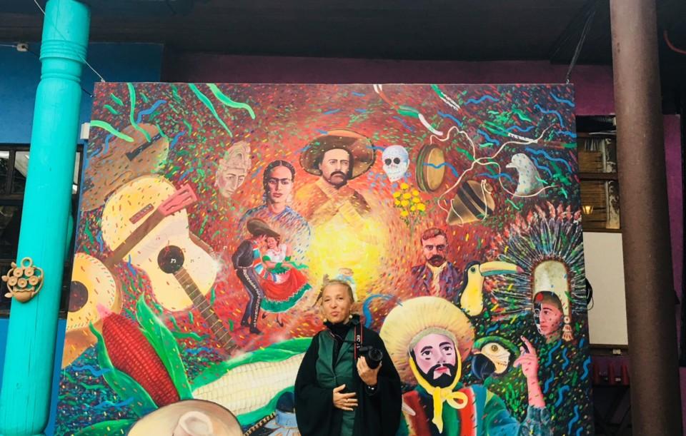 Tra i tanti murales di San Cristobal de las Casas