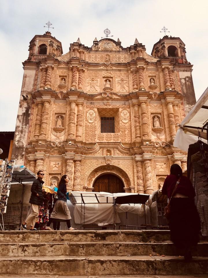 La chiesa di San Domingo a San Cristobal de Las Casas